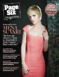 Mena Suvari on the cover of Page Six (United States) - January 2008