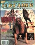 Dave Ellefson, Dave Mustaine, Marty Friedman, Nick Menza on the cover of Screamer (United States) - November 1992