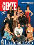 Antonio Banderas, Florencia Peña, Marcela Kloosterboer, Melanie Griffith, Natalia Oreiro on the cover of Gente (Argentina) - December 2007