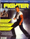 Jean-Claude Van Damme on the cover of Fighter (United States) - November 1990