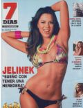Karina Jelinek on the cover of 7 Dias (Argentina) - November 2008