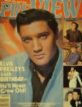 Elvis Presley on the cover of Preview (United States) - February 1979
