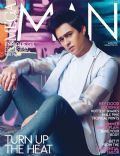 Enrique Gil on the cover of Mega Man (Philippines) - April 2014