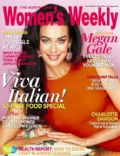 Megan Gale on the cover of Womens Weekly (Australia) - October 2012