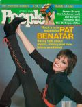 Pat Benatar on the cover of People (United States) - September 1981