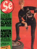 Anita Lindblom on the cover of Se (Turkey) - January 1968
