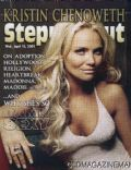 Kristin Chenoweth on the cover of Steppin Out (United States) - April 2009