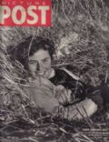 Ingrid Bergman on the cover of Picture Post (United Kingdom) - December 1943