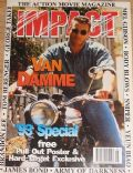 Jean-Claude Van Damme on the cover of Impact (United Kingdom) - May 1993