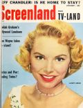 Janet Leigh on the cover of Screenland (United States) - January 1956