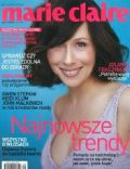 Jolanta Fraszynska on the cover of Marie Claire (Poland) - September 2004