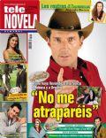 Corazón apasionado, Marcelo Buquet on the cover of Tele Novela (Spain) - July 2012