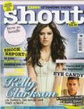 Kelly Clarkson on the cover of Shout (United Kingdom) - August 2007