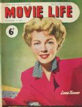 Lana Turner on the cover of Movie Life (Australia) - September 1949