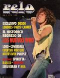 Roger Daltrey on the cover of Pelo (Argentina) - July 1979