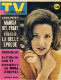 Luisella Boni on the cover of TV Sorrisi E Canzoni (Italy) - April 1963