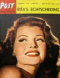 Rita Hayworth on the cover of De Post (Belgium) - June 1951