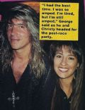 George Lynch and Christy Lynch