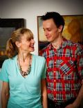 Adam Greydon Reid and Kristin Lehman