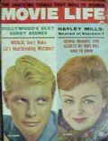 Deborah Walley, Troy Donahue on the cover of Movie Life (United States) - December 1961