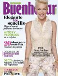Pink on the cover of Buen Hogar (Puerto Rico) - June 2013