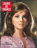 Gina Lollobrigida on the cover of Jours De France (France) - May 1968