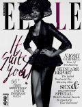 Naomi Campbell on the cover of Elle (Indonesia) - February 2014