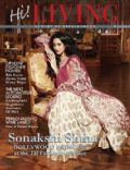 Sonakshi Sinha on the cover of Hi Living (India) - May 2011