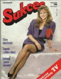 Grazyna Torbicka on the cover of Sukces (Poland) - June 1990