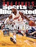 LeBron James on the cover of Sports Illustrated (United States) - June 2012