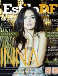 Inna on the cover of Estilo Df (Mexico) - June 2014