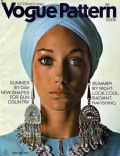 Marisa Berenson on the cover of Vogue Patterns (United States) - June 1970