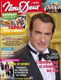 Jean Dujardin on the cover of Nous Deux (France) - May 2012