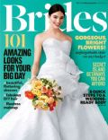 on the cover of Brides (United States) - August 2012