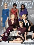 Carey Mulligan, Charlize Theron, Glenn Close, Michelle Williams, Octavia Spencer, Viola Davis on the cover of The Hollywood Reporter (United States) - November 2011