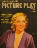 Alice Faye on the cover of Picture Play (United States) - March 1938