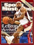 LeBron James on the cover of Sports Illustrated (United States) - June 2007