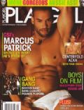 Marcus Patrick on the cover of Playgirl (United States) - September 2007