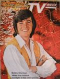 Bobby Sherman on the cover of TV Week (United States) - May 1971