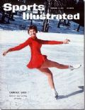 Laurence Owen on the cover of Sports Illustrated (United States) - February 1961