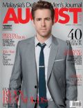 Ryan Reynolds on the cover of August Man (Malaysia) - June 2011
