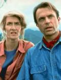 Sam Neill and Laura Dern