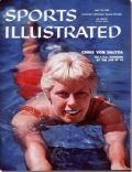 Chris von Saltza on the cover of Sports Illustrated (United States) - July 1958