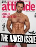 Sylvain Longchambon on the cover of Attitude (United Kingdom) - March 2014