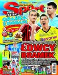 Robert Lewandowski, Sergio Aguero, Zlatan Ibrahimovic on the cover of Bravo Sport (Poland) - November 2011
