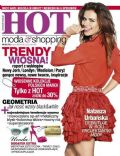 Natasza Urbanska on the cover of Hot Moda and Shopping (Poland) - March 2013