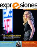 Madonna on the cover of Expresiones (Ecuador) - February 2012