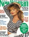 Paulina Porizkova on the cover of New Woman (United Kingdom) - April 1993