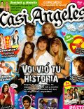 Gastón Dalmau, Juan Pedro Lanzani, María Eugenia Suárez, Mariana Espósito, Nicolas Riera on the cover of Casi Angeles (Argentina) - May 2008