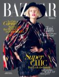 Toni Garrn on the cover of Harpers Bazaar (Germany) - September 2014